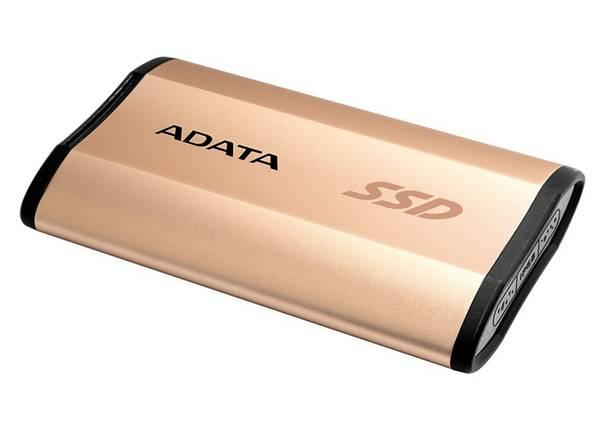 SSD externí ADATA ASE730 512GB (ASE730H-512GU31-CGD) zlatý