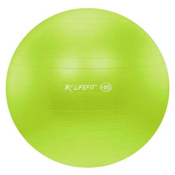 Gymnastický míč LIFEFIT ANTI-BURST 85 cm zelený