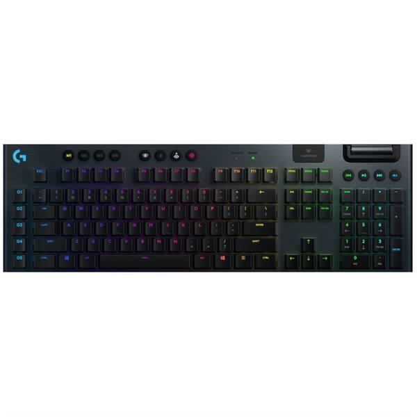 Klávesnice Logitech Gaming G915 Lightspeed RGB, Tactile, US (920-008910) černá