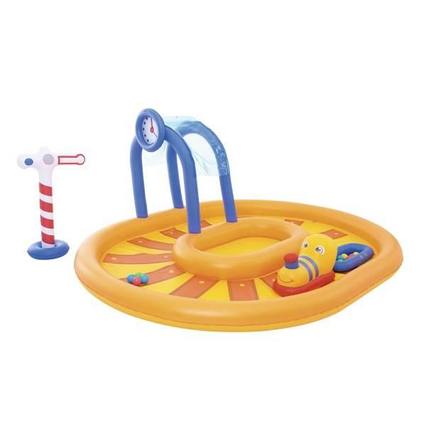 Bazénové hrací centrum Bestway Little Caboose 285x224x119 cm (53061)