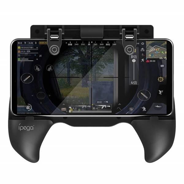 Gamepad iPega Extendable Game Grip, iOS/Android (PG-9117) čierny