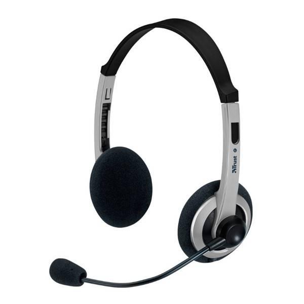 Headset Trust ComfortFit (15480) čierny/sivý