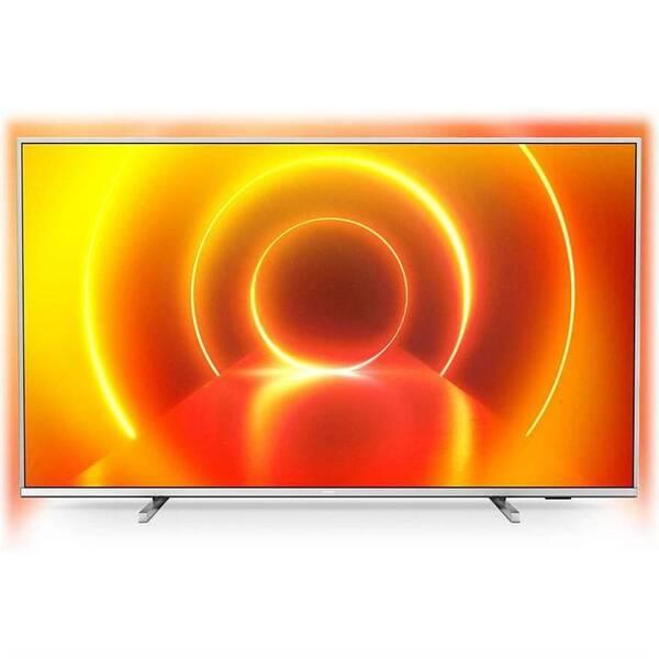 Televize Philips 43PUS7855 stříbrná (Zboží vrácené ve 14 denní lhůtě, servisované 8800759967)