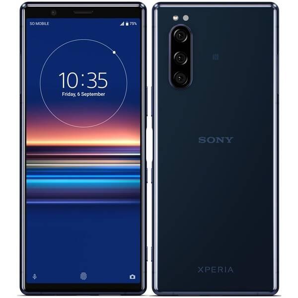 Mobilní telefon Sony Xperia 5 (1320-4791) modrý (vrácené zboží 8800402836)