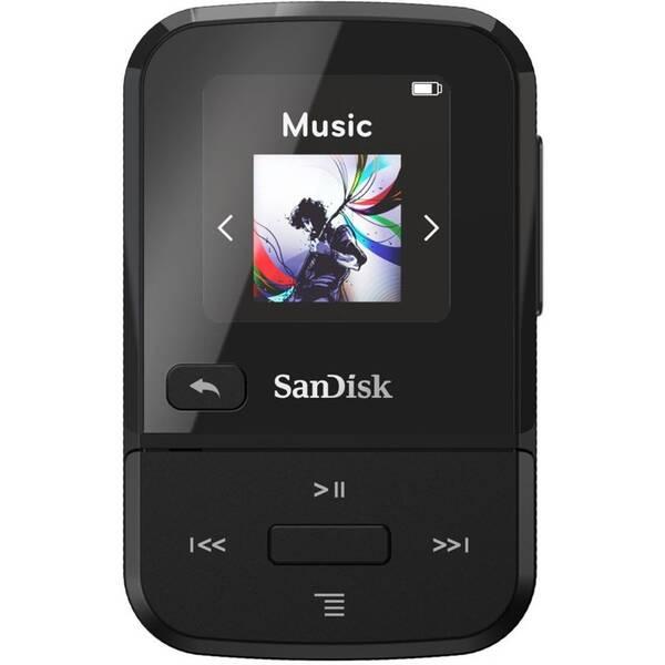 MP3 prehrávač SanDisk Clip Sport Go2 32GB (SDMX30-032G-E46K) čierny
