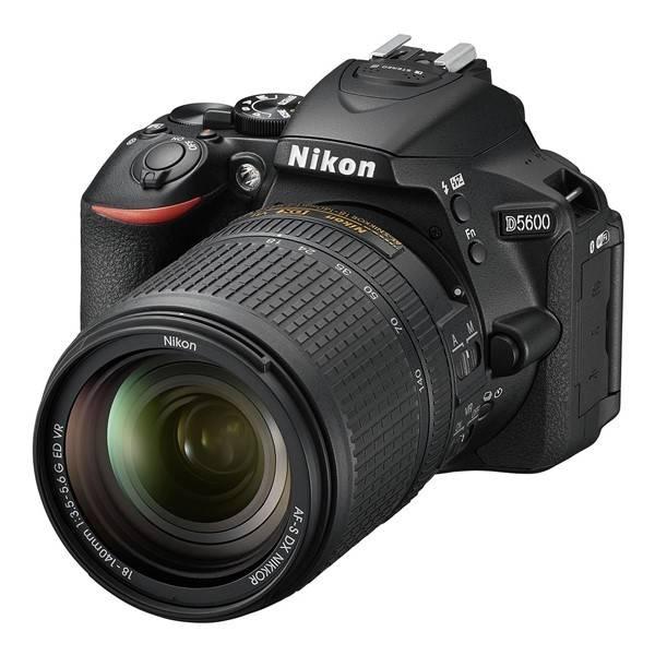 Digitální fotoaparát Nikon D5600 + 18-140 AF-S VR (VBA500K002) černý (vrácené zboží 2540007106)