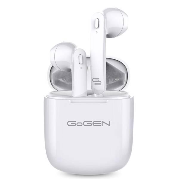 Sluchátka GoGEN TWS BAR (TWSBAR) bílá (vrácené zboží 8800785593)