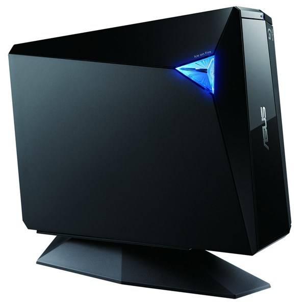 Externí Blu-ray vypalovačka Asus BW-12D1S-U (90-D900000-UA071KZ) černá