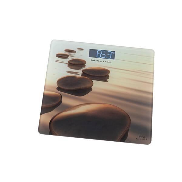 Osobní váha Gallet Pierres beiges PEP 951 béžová (Náhradní obal / Silně deformovaný obal 2300030054)