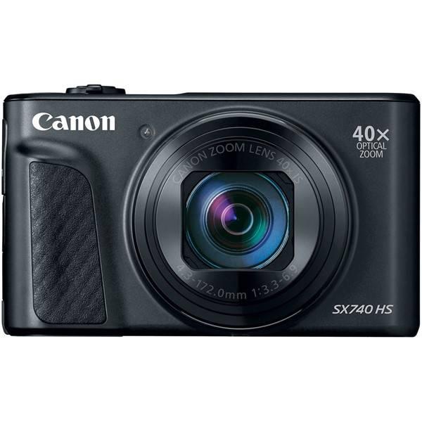 Digitálny fotoaparát Canon PowerShot SX740 HS (2955C002) čierny