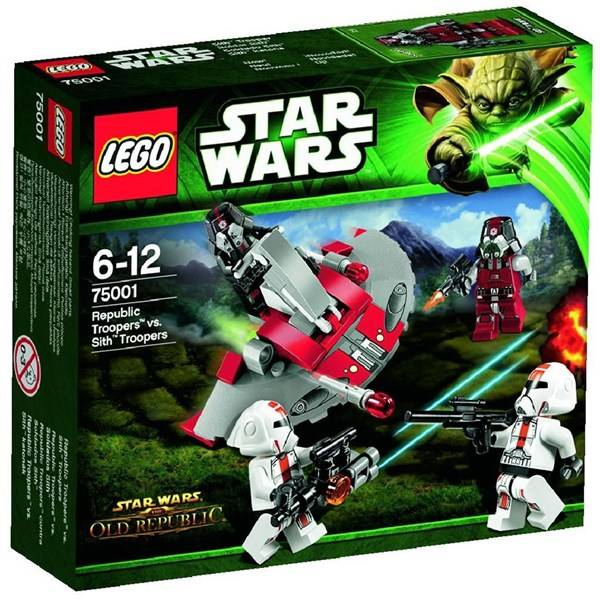 Stavebnice LEGO® Star Wars 75001 Republic Troopers™ vs Sith™ Troopers