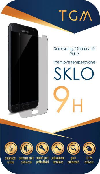 Ochranné sklo TGM pro Samsung Galaxy J5 (2017) (TGM-SM-J52017) priehľadné