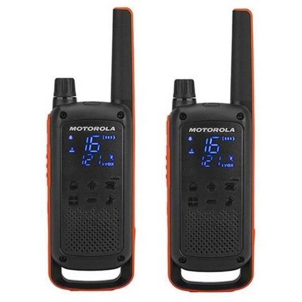 Vysílačky Motorola TLKR T82 (B8P00811EDRMAW) černý/oranžový (vrácené zboží 8800359682)