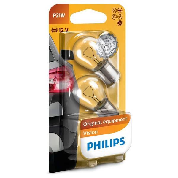 Autožiarovka Philips Vision P21W, 2ks (12498B2)