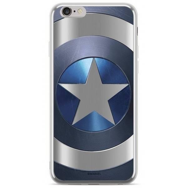 Kryt na mobil Marvel Captain America na Huawei P20 Lite (MPCCAPAM1865) strieborný
