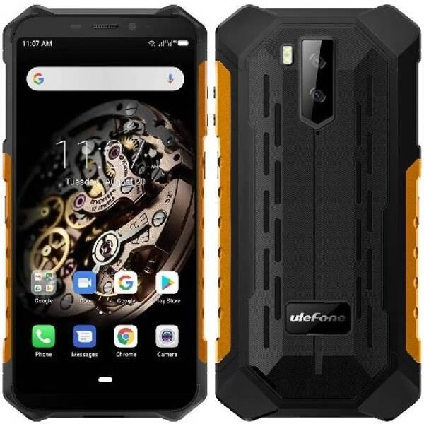 Mobilní telefon UleFone Armor X3 (ULE000311) oranžový