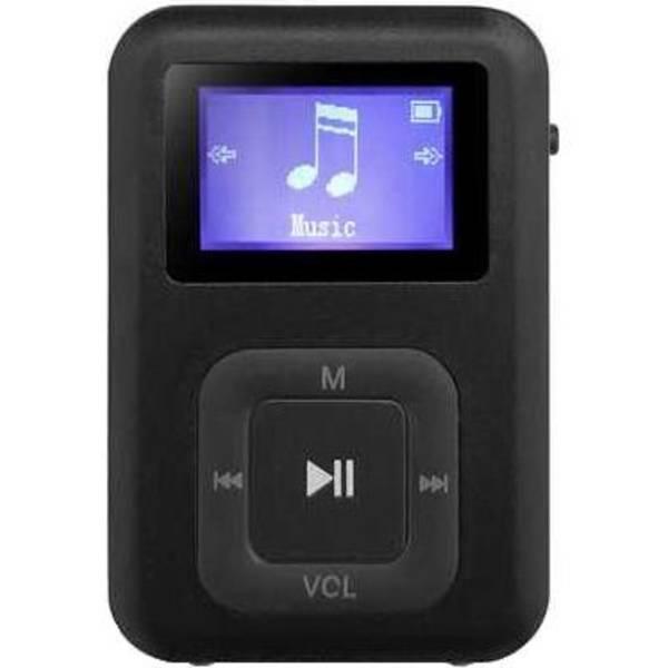 MP3 přehrávač AQ MP01BK (6mp01bk) černý