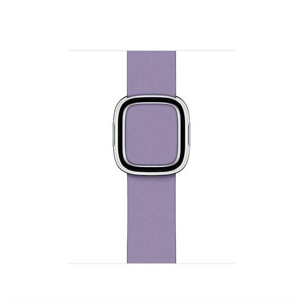 Řemínek Apple Watch 40mm šeříkově modrý řemínek s moderní přezkou – střední (MV6V2ZM/A)