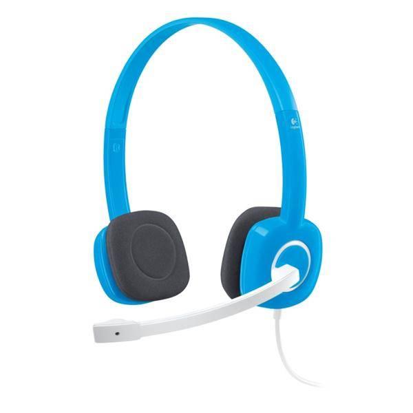 Headset Logitech Stereo H150 - blueberry (981-000368)