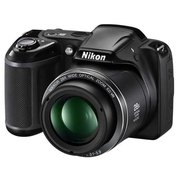 Digitální fotoaparát Nikon Coolpix L340 černý
