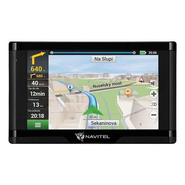 Navigačný systém GPS Navitel E500 Magnetic, Lifetime (C2047039) čierna