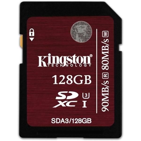 Pamäťová karta Kingston SDXC 128GB UHS-I U3 (90R/80W) (SDA3/128GB)