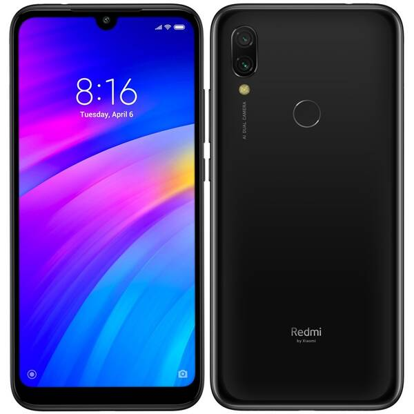 Mobilní telefon Xiaomi Redmi 7 16 GB Dual SIM (22772) černý
