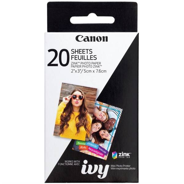 Fotopapír Canon ZP-2030, 50x76 mm, 20 ks, pro Zoemini (3214C002)