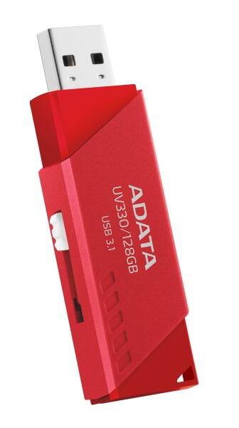 USB Flash ADATA UV330, 32 GB, (AUV330-32G-RRD) červený