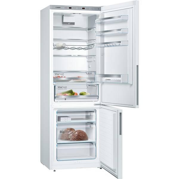 Chladnička s mrazničkou Bosch KGE49VW4A bílá