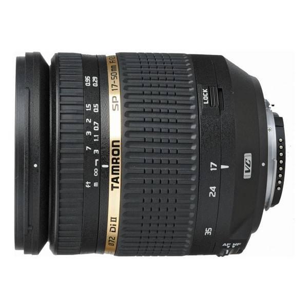 Objektiv Tamron SP AF 17-50 mm F/2.8 XR Di-II VC LD Asp. (IF) pro Canon (B005E) černý (vrácené zboží 8800322889)