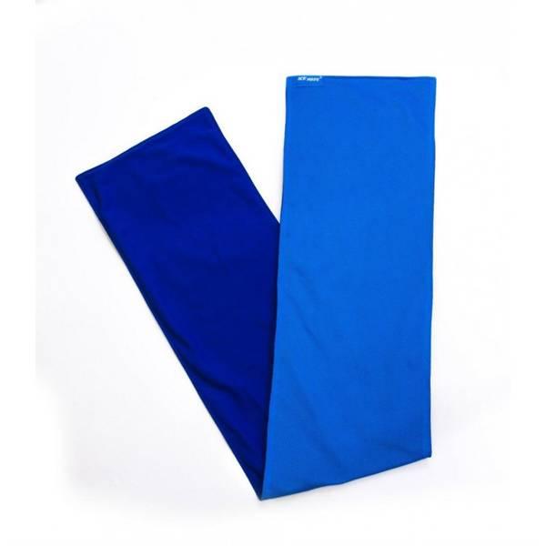 Cool Towel Twin 100 x 20 cm, bílá/zelená