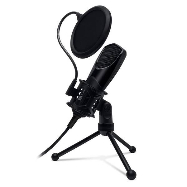 Mikrofon Connect IT YouMic s POP filtrem, USB černý