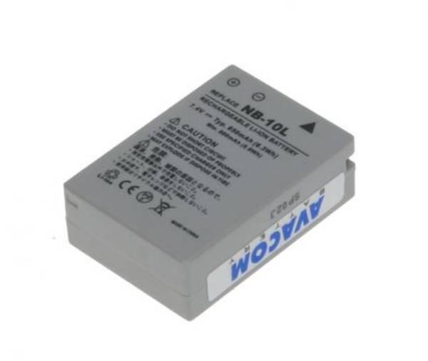 Batéria Avacom Canon NB-10L Li-Ion 7,4V 850mAh (DICA-NB10-365)