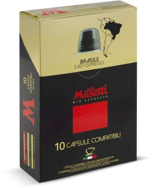 Kapsle pro espressa Musetti Brasile