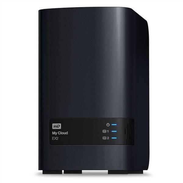 Datové uložiště (NAS) Western Digital My Cloud EX2 8TB (WDBVKW0080JCH-EESN) černé