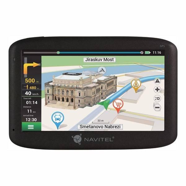 Navigační systém GPS Navitel MS400 černá (vrácené zboží 8800256719)
