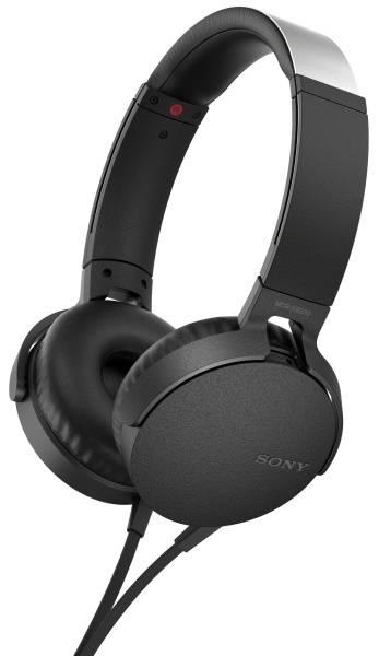 Sluchátka Sony MDR-XB550AP Extra Bass™ (MDRXB550APB.CE7) černá