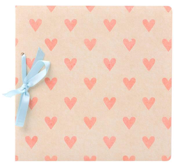 Fotoalbum Fujifilm Instax Scrapbook Gift Pink Hearts