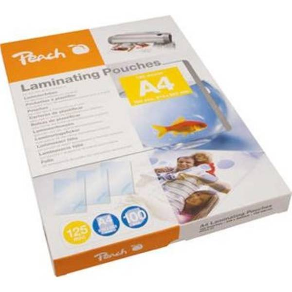 Laminovací fólie Peach A4 (216x303mm), 125mic, 100pck/BAL (PP525-02)