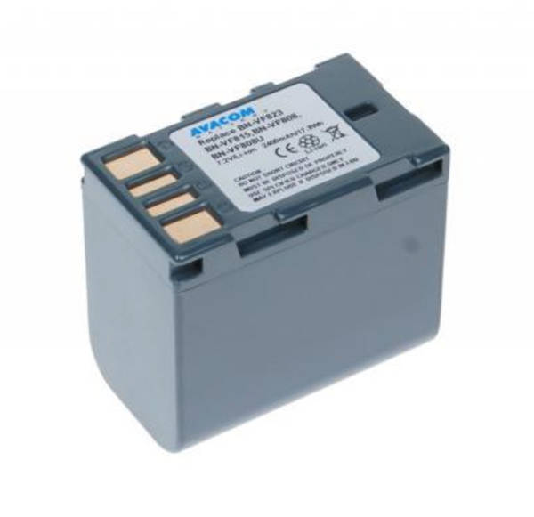 Baterie Avacom JVC BN-VF808, VF815, VF823 Li-Ion 7.2V 2400mAh 17.3Wh (VIJV-823-154)