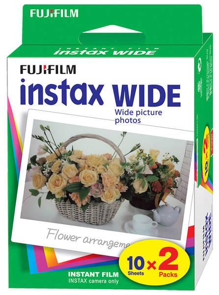 Instantní film Fujifilm Instax wide 20ks (16385995) (vrácené zboží 8800639239)