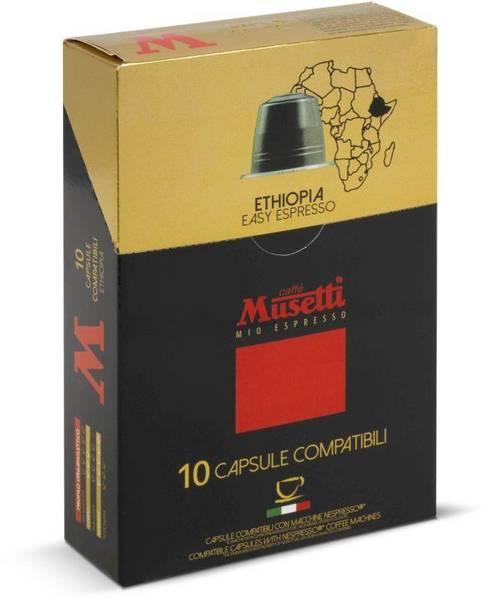 Kapsle pro espressa Musetti Ethiopia