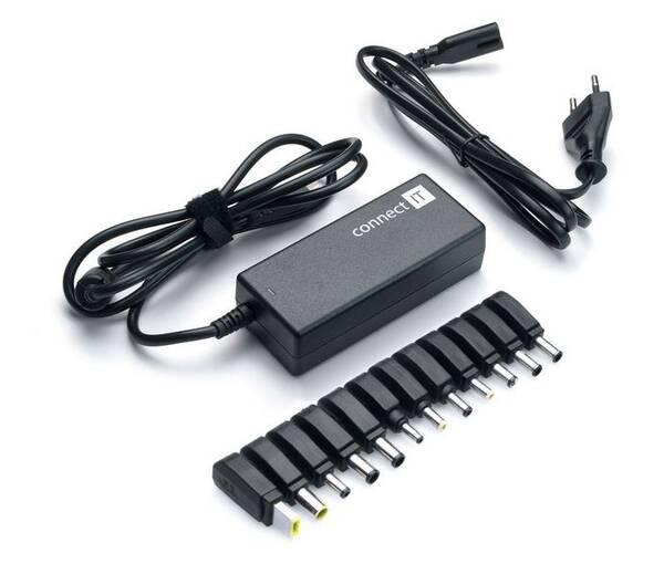 Napájecí adaptér Connect IT CI-133 univerzální pro notebooky, 90 W (CI-133)