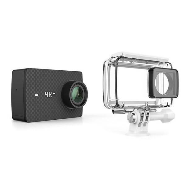 Outdoorová kamera YI Technology YI 4K+ Action + voděodolný kryt (AMI408) černá (vrácené zboží 8800169792)