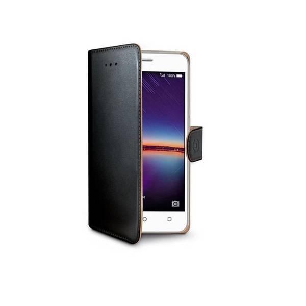 Pouzdro na mobil flipové Celly Wally pro Huawei Y5 II (WALLY584) černé (vrácené zboží 8800142026)