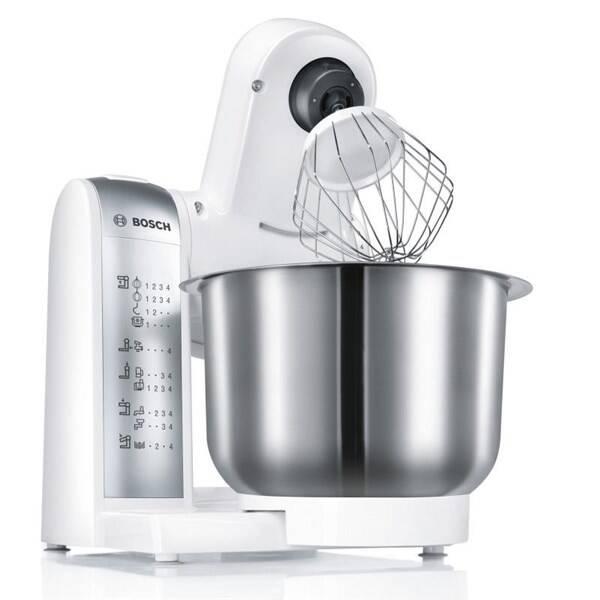 Kuchynský robot Bosch MUM4880 sivý/biely