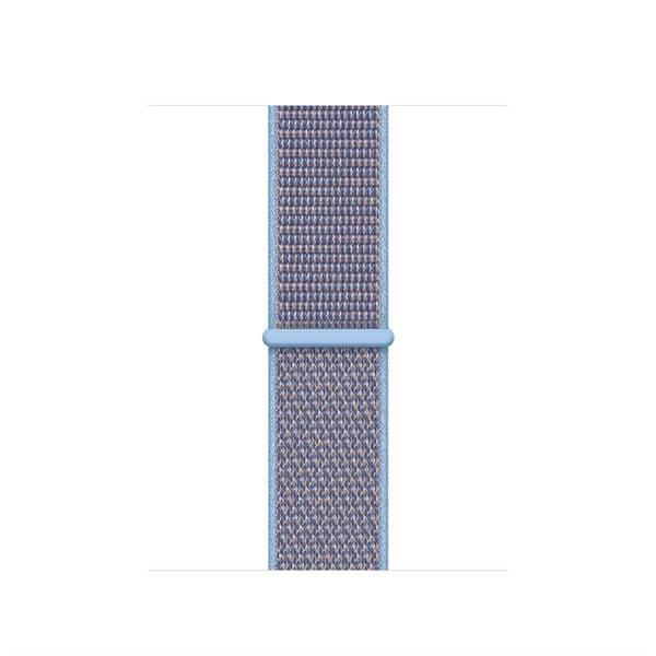 Řemínek Apple Watch 40mm popelavě modrý provlékací sportovní (MV6F2ZM/A)