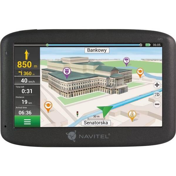 Navigační systém GPS Navitel E500 (C2047023) černá (vrácené zboží 8800374566)