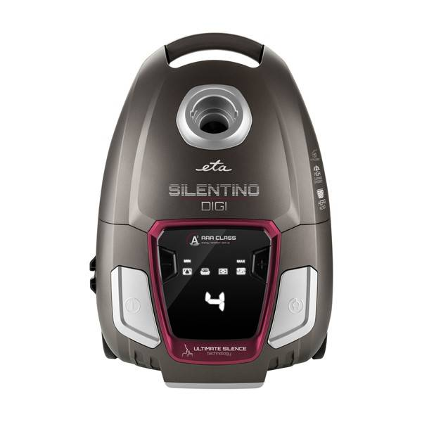 Vysavač podlahový ETA Silentino Digi 2510 90000 červený/hnědý